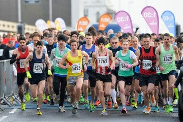 The inaugural Worthing Half Marathon and Mini Mile on Sunday February 14, 2016. Picture by Dan Law/danlawphotography.com