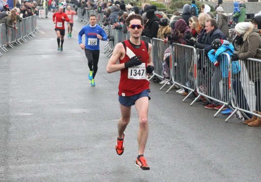 Worthing Half Marathon Finish Line