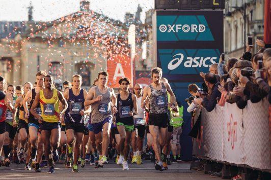 Oxford Half start
